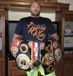 Tyson Fury a ramas fara ultima centura mondiala din palmares