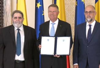 UDMR si minoritatile au semnat pactul national la Cotroceni. Iohannis: PSD si ALDE continua sa se indeparteze de interesele cetatenilor