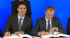 UE si Canada au semnat acordul de liber-schimb CETA, care promite o crestere a comertului cu 20%