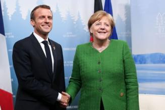 UE si disputa privind azilul: Merkel si Macron, pe aceeasi lungime de unda