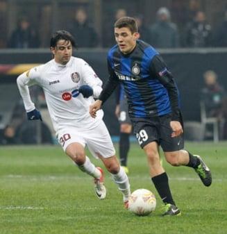 UEFA: Victorie de rutina pentru Inter cu CFR Cluj