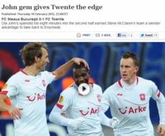 UEFA, despre meciul Steaua - Twente