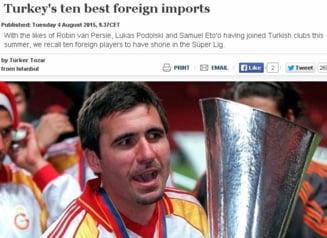 UEFA a decis: Hagi si Gica Popescu, printre cei mai buni straini din istoria fotbalului turc