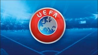 UEFA a suspendat meciurile din Liga Campionilor si Europa League