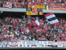 UEFA amendeaza un club din Belgia pentru un banner cu caracter politic
