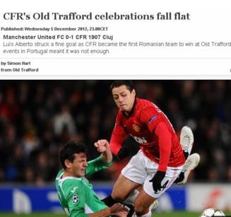 """UEFA analizeaza victoria CFR-ului de la Manchester: """"Atat de aproape"""""""