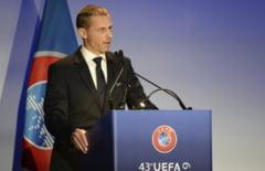 UEFA si-a ales presedintele pentru urmatorii 4 ani