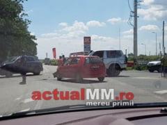 ULTIMA ORA - Accident grav cu doi raniti pe DN 1C, la intersectia spre Hideaga