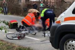 ULTIMA ORA! Biciclist RANIT dupa ce a fost lovit de o masina, intre Focsani si Garoafa
