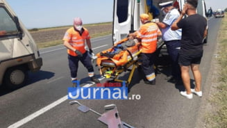 ULTIMA ORA! Militar in stare grava dupa ce a fost lovit de masina!