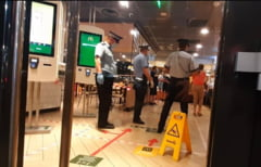 ULTIMA ORA! VIDEO si GALERIE FOTO! Terase si restaurante din Focsani, controlate de politisti, jandarmi si inspectori DSP
