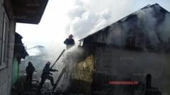 ULTIMA ORA:Incendiu teribil pe strada Traian din Barlad!(FOTO, VIDEO)
