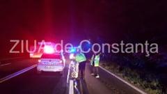 UPDATE. Imagini de la eveniment Tragedia noptii. Accident rutier grav intre Costinesti si 23 August. Un barbat decedat (galerie foto+video)