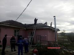 UPDATE: Incendiul de la ferma lui Bogos a fost lichidat! (FOTO)