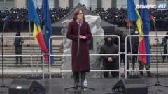 UPDATE. Mii de protestatari la Chisinau. Maia Sandu: Rabdarea noastra este pusa la grea incercare. Dodon da foc la tara!