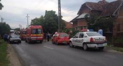 UPDATE: Traficul a fost reluat pe DN1 intre Oradea si Cluj, in urma producerii accidentului in lant. Sase vehicule au fost implicate