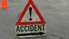UPDATE Accident pe DN 1, la Breaza. Doua persoane sunt ranite