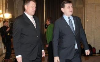 UPDATE Antonescu si Iohannis vor iesirea de la guvernare, daca PC nu renunta la postul de vicepremier