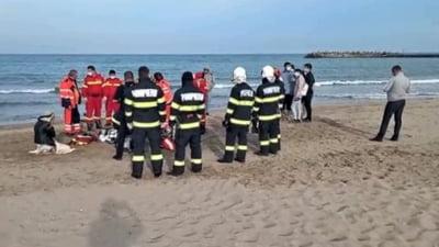 UPDATE Cadavru descoperit pe o plajă din Constanța