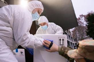 UPDATE Cea de-a doua transa de vaccin impotriva COVID-19, peste 140.000 de doze, ajunge marti in Romania. Un prim avion a aterizat pe aeroportul Otopeni