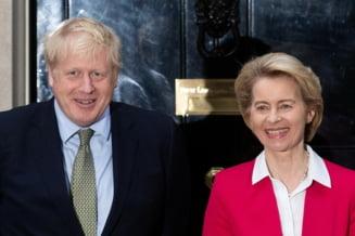 UPDATE Concluzia discutiei dintre Boris Johnson si Ursula von der Leyen. Negocierile privind acordul post-Brexit vor continua