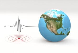 UPDATE Doua cutremure in mai putin de o ora. Ce magnitudine au avut