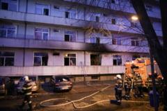 UPDATE Doua decese in randul pacientilor transferati in urma incendiului produs la Institutul Matei Bals