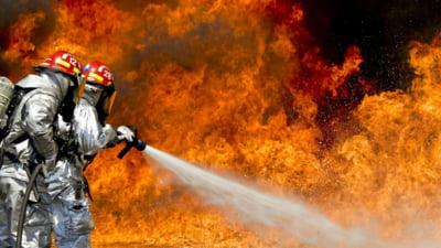 UPDATE FOTO Incendiu la Spitalul CFR din Cluj. Trei pacienti dintr-un salon au fost evacuati
