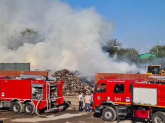 Incendiu de proporții lângă fosta groapă de gunoi din Chitila  |Incendiu Chitila