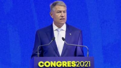 """UPDATE Klaus Iohannis, la Congresul PNL: """"Nu există niciun motiv ca premierul să fie demis sau să demisioneze"""""""
