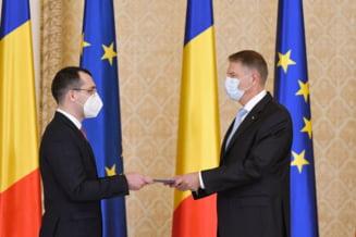 UPDATE Klaus Iohannis a semnat demiterea lui Vlad Voiculescu. Decretul a fost publicat in Monitorul Oficial