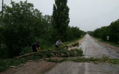 UPDATE O noua avertizare de fenomene meteo imediate, valabila pana la ora 19,00. 77 de localitati din Olt sunt vizate, inclusiv Slatina