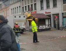 UPDATE Un sofer a intrat cu masina in multimea de oameni adunata in centrul orasului german Trier. Patru morti si 15 raniti, printre care si un bebelus