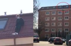 UPDATE Un student s-a aruncat de pe caminul din Bucuresti in care locuia. Negociatorii au incercat trei ore sa-l convinga sa coboare