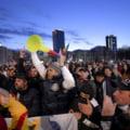 UPDATE VIDEO O noua zi de proteste in Bucuresti. Mii de persoane s-au adunat in fata Palatului Cotroceni