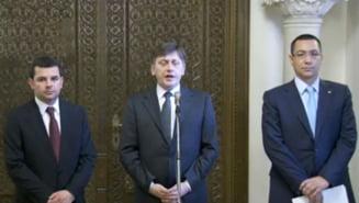 USL, dupa consultari: In curand aflam pe cine vrea Basescu premier
