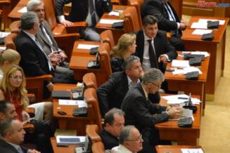 USL da vina pe PDL pentru taraganarea bugetului - Opozitia cere demisia lui Relu Fenechiu