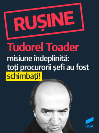 USR, dupa anuntul de revocare a lui Lazar: O noua dovada ca Romania se transforma in dictatura personala a lui Dragnea. Toader si-a salvat postul de ministru