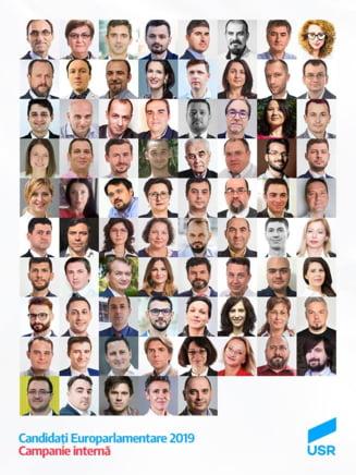 """USR, primul partid care stabileste prin vot lista candidatilor la europarlamentare: """"Va fi o surpriza pentru noi toti"""""""