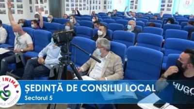 USR PLUS a votat alaturi de PSD bugetul Primariei Sectorului 5, conduse de Piedone VIDEO