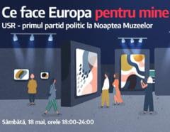 USR isi deschide portile in Noaptea Muzeelor: Desene semnate de Dan Perjovschi si surprize pentru toti vizitatorii