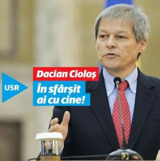 USR organizeaza un nou referendum intern: Fuzioneaza cu Platforma lui Ciolos?