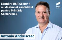 USR si-a desemnat candidatul la Primaria Sectorului 4: un consilier care a starnit un scandal cu afirmatii misogine