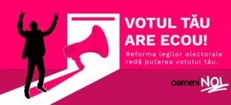"USR va transpune in proiect de lege initiativa ""Oameni noi in politica"", blocata de CCR"