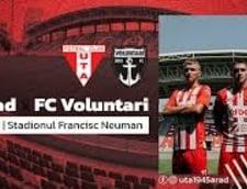 UTA a remizat cu FC Voluntari, scor 0-0, in primul meci pe noul sau stadion