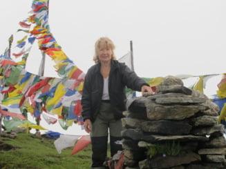 Uca Marinescu, cea mai cunoscuta femeie explorator, la 72 de ani: Muntii mei ma cheama acasa