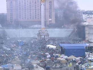 Ucraina: Armistitiul, incalcat in strada. Violentele au izbucnit din nou la Kiev (Video)