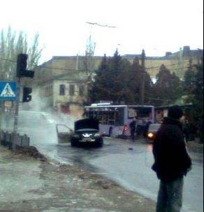 Ucraina: Bombardament cu zeci de victime la o statie de troleibuz din Donetk (Video)