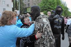 Ucraina: Femeile luptatoare din Donetk dau un ultimatum rusilor