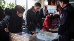 Ucraina, in plin razboi, voteaza in cadrul alegerilor legislative anticipate